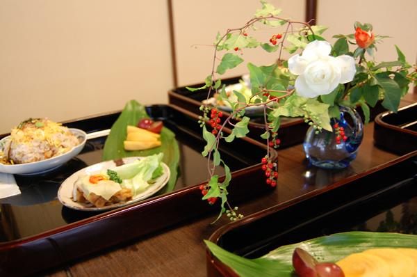 古代米のちらし寿司御膳