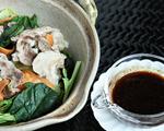 豚肉とたっぷり野菜の土鍋蒸し