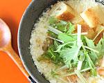有機玄米くろ酢で台湾風スープ