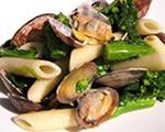 あさりと菜の花のマカロニサラダ